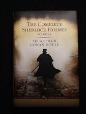 The Complete Sherlock Holmes: Vol 1 by Arthur Conan Doyle  Signature Edition NEW