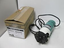 New In Box Iwaki WMD-30LFX-115 Mag-Drive Pump, 115VAC, *Impeller Not Included*
