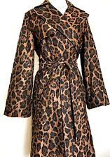 Carolina Herrera Leopard Coat Retails $1,155 NWT Price $425 Size M
