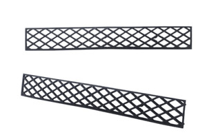 GREAT WALL X240 6/2009-3/2011 CC FRONT BUMPER INSERT GRILLE
