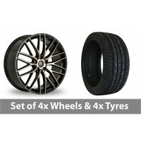 "4 x 20"" AC Wheels Syclone Alloy Wheel Rims and Tyres -  255/45/20"