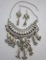 Style Statement Fashion Necklace Bib Boho Gypsy Hippy Tribal Belly dance Jewelry
