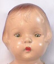 Horsman Nan Composition Doll 20 in. Vintage 1931 Patsy Type To Restore