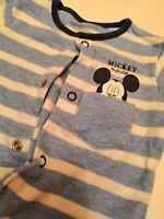 Stunning Baby Boys Newborn Mickey Mouse Babygrow