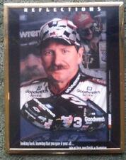 VINTAGE NASCAR DALE EARNHARDT FRAMED PHOTO THE INTIMIDATOR #3 GOODWRENCH