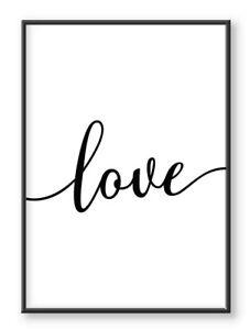 Love Print, Wall Print, Bedroom Prints, Prints Wall Art, Bedroom Wall Art, Love