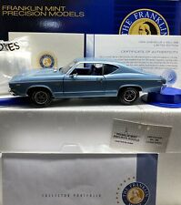 Franklin Mint 1969 Chevelle Ss 1/24 Scale Very Very Rare Diecast