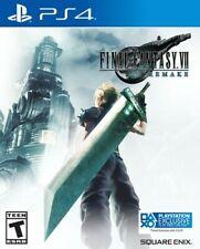 New listing Final Fantasy Vii Remake - Sony PlayStation 4