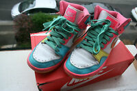 Nike High Tops, Neon Pink, Size 4.5