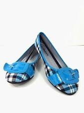 Pretty Buckle Plaids flat shoes of the season