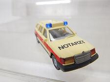 eso-1227Wiking 1:87 Mercedes 230TE Notarzt sehr guter Zustand