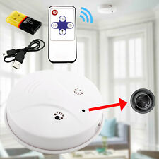 HD DVR Hidden Camera Smoke Detector Motion Detection Video Recorder Cam