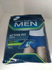 10x Tena Men Active Fit Plus Pants Medium 9 Unopened