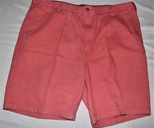 Men's Shorts Size 40 Nautica Orange Coral Classic Fit Flat Front NWOT's