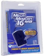 InterAct 16 MB Mega Memory Card For SONY PlayStation 2 PS2 Console System