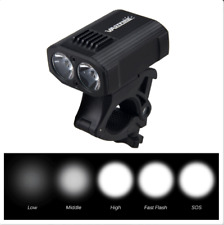 1x 15000LM T6 LED Rechargeable MTB Bicycle Night Light Bike Front Headlight USB