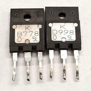 2SB778 2SD998 Matched KEC pulled original transistors Group: O
