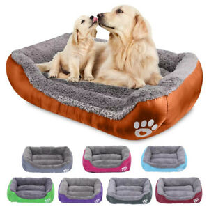 Pet Dog Bed with Machine Washable Comfortable and Safety for Medium Large Dogs