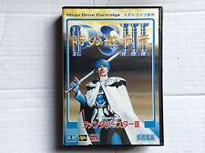 Sega Mega Megadrive VTG Juego #retrogaming Phantasy Star 3 Completa Japón Ntsc J