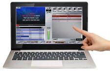 Selectatrack Player - Touchscreen Karaoke Laptop. Includes 500 Songs