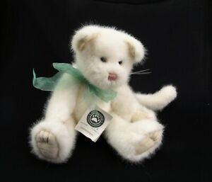 "Tessa Fluffypaws Boyds bear stuffed Cat white weighted bottom 14"" plush"