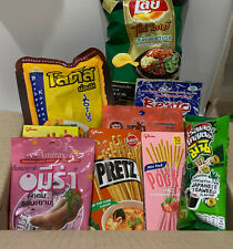 Mystery Thailand/Asian Snack/Candy/Food Snack/Noodle/Prize Box Authentic Snacks