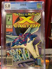 X-Factor #24  CGC 5.0  KEY NEWSSTAND 1st Archangel, Apocalypse Origin 1988 Comic