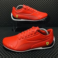 Puma SF Ferrari Drift Cat 7S Ultra (Men's Size 9.5) Athletic Sneakers Red Shoes