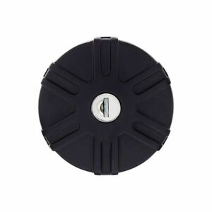 Black Titan Cap - Locking Gas Cap for 1947-71 Chevy and Ford