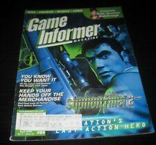 Vintage Game Informer Magazine Nintendo PS Nes Sega video games 2000 issue 84
