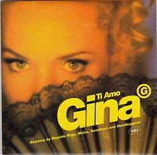 Gina G - Ti Amo - CD (1997 7 x Track Card Sleeve Australia)