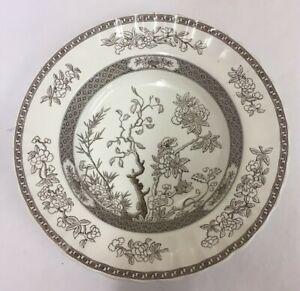 "Copeland Spode ""Indian Tree"" Brown Replacement Soup/Dessert Bowl (D4)"