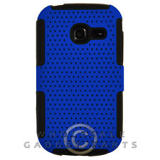 Samsung R480 Freeform 5 Hybrid Mesh Case Blue/Black Cover Shell Protector Guard