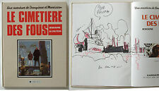 Coutelis Dampierre et Morrisson Le cimetiere des fous avec dessin dédicace EO