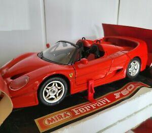 SOLIDO Mira 1:18 Ferrari F50 1995 No OTTO GT Spirit Minichamps Norev