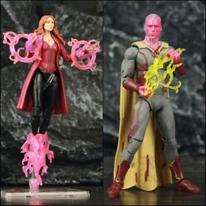 SScarlet witch girl Wanda Vision action figures Avengers Endgame legends PVC toy