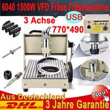 1500W 4 ACHSEN CNC ROUTER GRAVIRMASCHINE 6040 USB Metall PRINTING FRãSMASCHINE