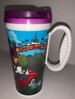 Walt Disney World Resort Rapid Refill Travel Hot Cold Plastic Cup Collectible