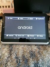 Portable Dvd Player 10.1 Inch Screen Android in car player.