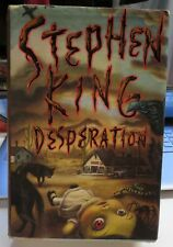 STEPHEN KING HARD COVER BOOK -  DESPERATION  PREOWNED FIRST EDITION