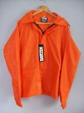 Jacket Dartex 28 in Long Waterproof Rain Jacket & Hood Orange X Large New + Tags