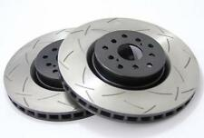 DBA Front 4000 Series Slotted Brake Rotors (Pair) For Subaru 04-17 STI