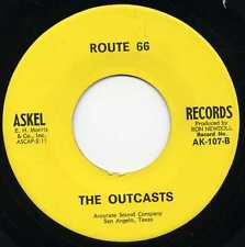 "OUTCASTS ""ROUTE 66"" KILLER TEXAS GARAGE 1966"