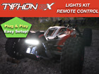 LED Lights Kit For Arrma Typhon 3s 6s + Remote Control by Polo Creations Rc USA