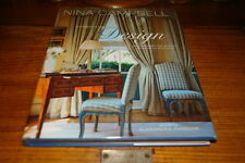 NINA CAMPBELL-ELEMENTS OF DESIGN;SIGNED COPY