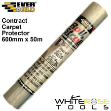EverBuild Roll and Stroll Contract Carpet Protector Waterproof Floor 600mm x 50m