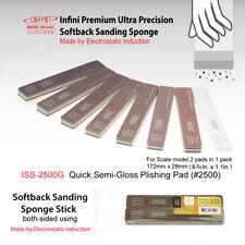 Sanding Sponge Stick (2-sided) -  Quick Semi Gloss #2500 (2pcs, 172mm x 28mm)