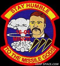USAF 532nd MISSILE TRAINING SQUADRON - MINOT -CLASS 2016-01- ORIGINAL PATCH ICBM