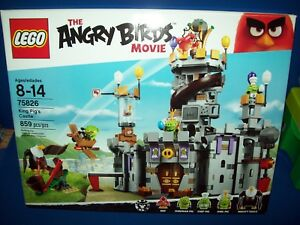 LEGO The Angry Birds Movie 75826 KING PIG'S CASTLE   New Sealed