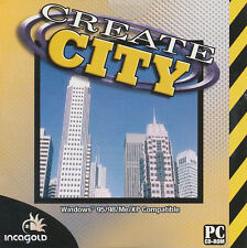 CREATE CITY City Classic Building Sim Windows PC Game BRAND NEW - FACTORY SEALED